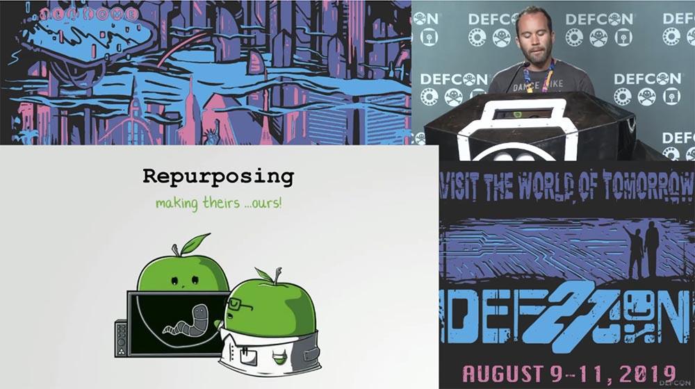 Конференция DEFCON 27. Извлечение пользы из хакерских продуктов для macOS. Часть 1 - 7