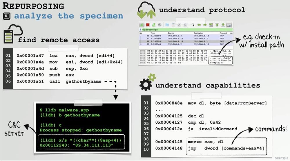 Конференция DEFCON 27. Извлечение пользы из хакерских продуктов для macOS. Часть 1 - 9