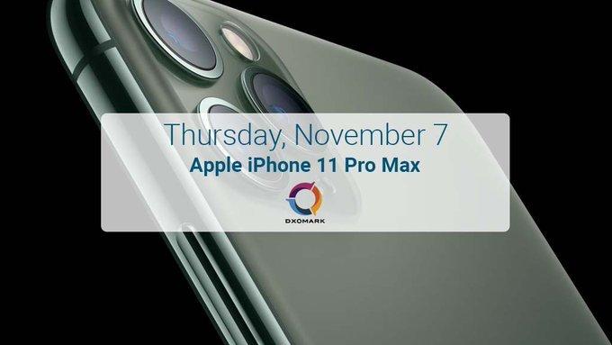 Apple попробует возглавить рейтинг DxOMark уже 7 ноября