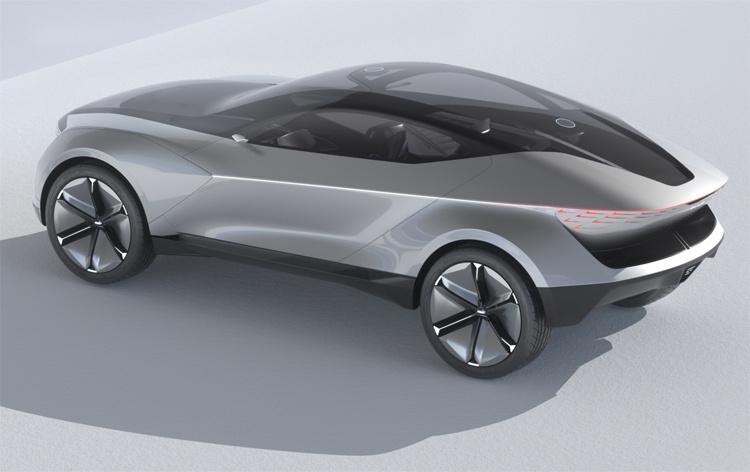 KIA Futuron Concept, или купе-кроссовер будущего с электрическим приводом