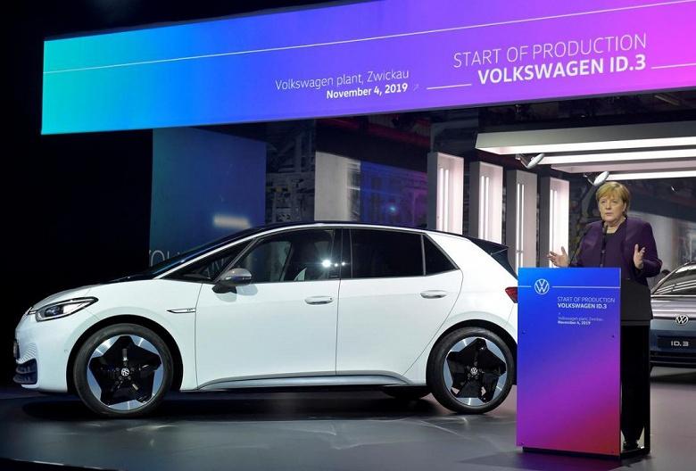 Германия удвоит субсидии на электромобили
