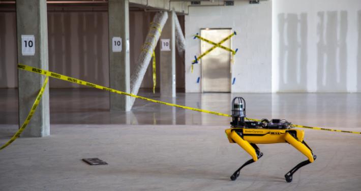 Четвероногий робот Boston Dynamics — Spot — обновился до версии 1.1 - 1