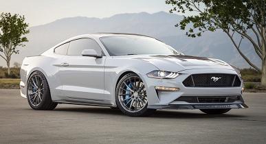 Электромобиль Ford Mustang Lithium оснащен механической коробкой передач