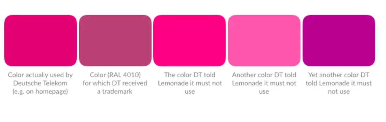 Немецкая компания T-Mobile заявляет, что владеет эксклюзивными правами на оттенок маджента - 2
