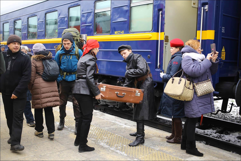 Ретропоезд с паровозом - 11