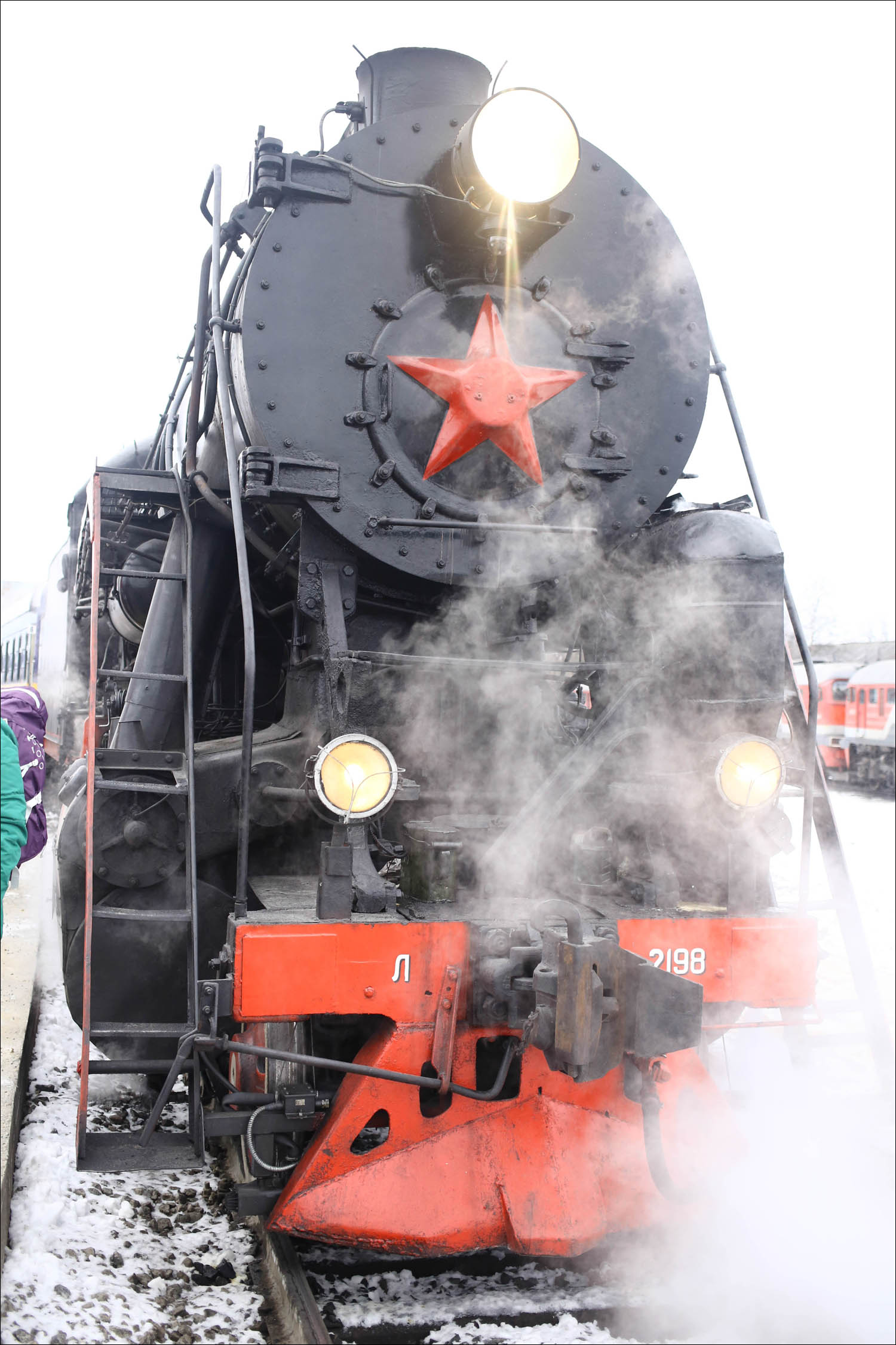 Ретропоезд с паровозом - 12