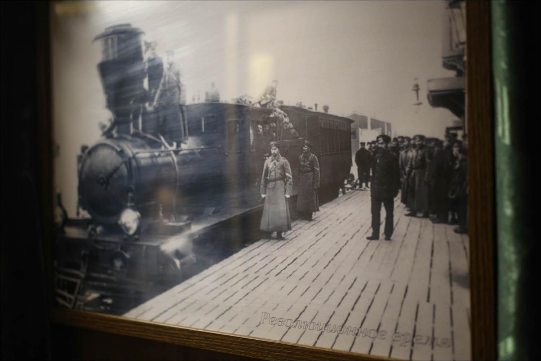 Ретропоезд с паровозом - 13