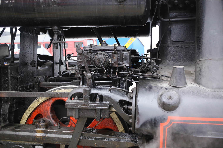 Ретропоезд с паровозом - 17