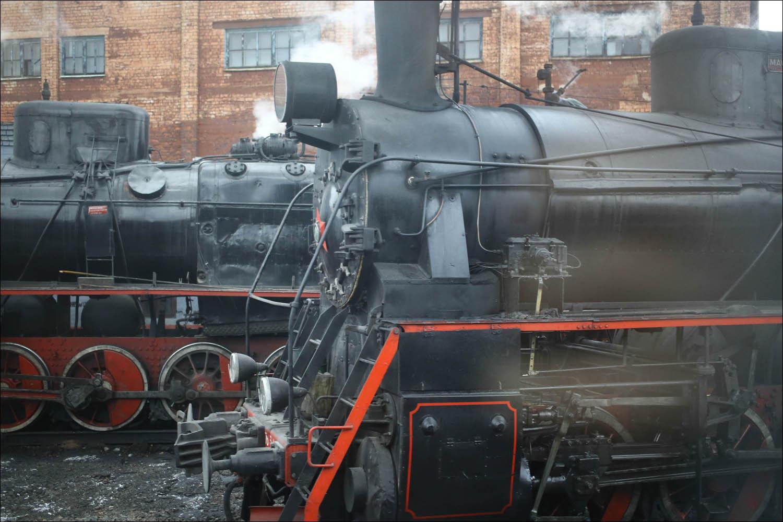 Ретропоезд с паровозом - 18