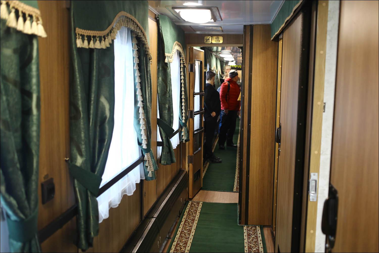 Ретропоезд с паровозом - 22