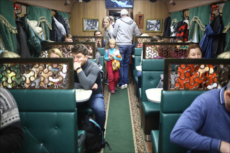 Ретропоезд с паровозом - 29