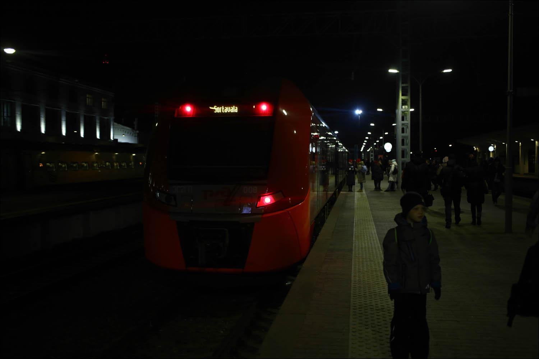 Ретропоезд с паровозом - 3