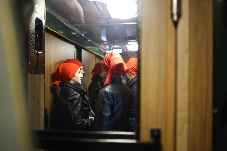 Ретропоезд с паровозом - 33