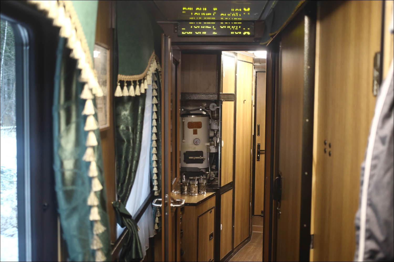 Ретропоезд с паровозом - 35