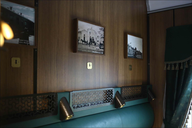 Ретропоезд с паровозом - 36