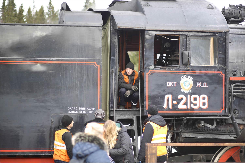 Ретропоезд с паровозом - 41