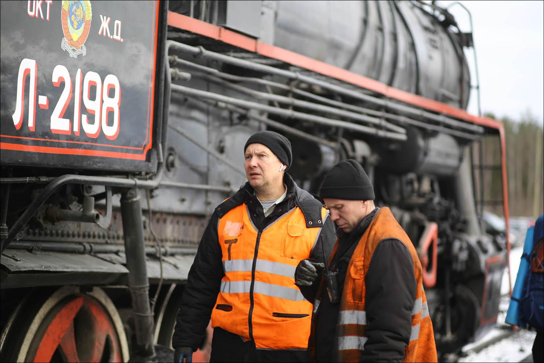 Ретропоезд с паровозом - 48