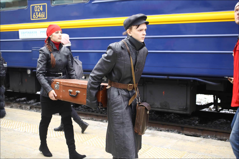 Ретропоезд с паровозом - 49