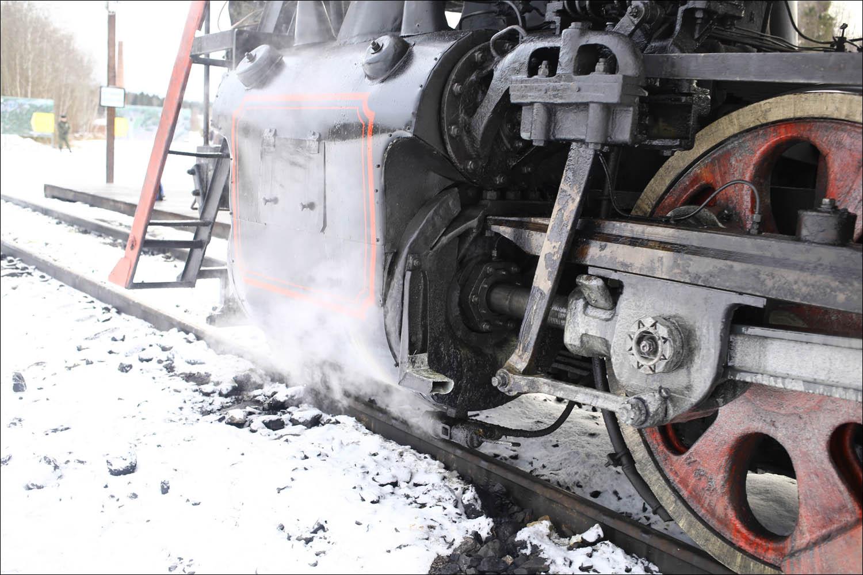 Ретропоезд с паровозом - 62