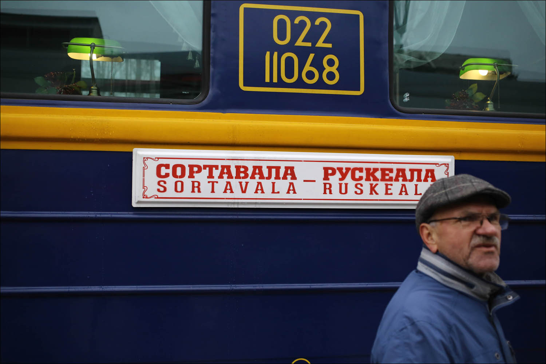 Ретропоезд с паровозом - 9