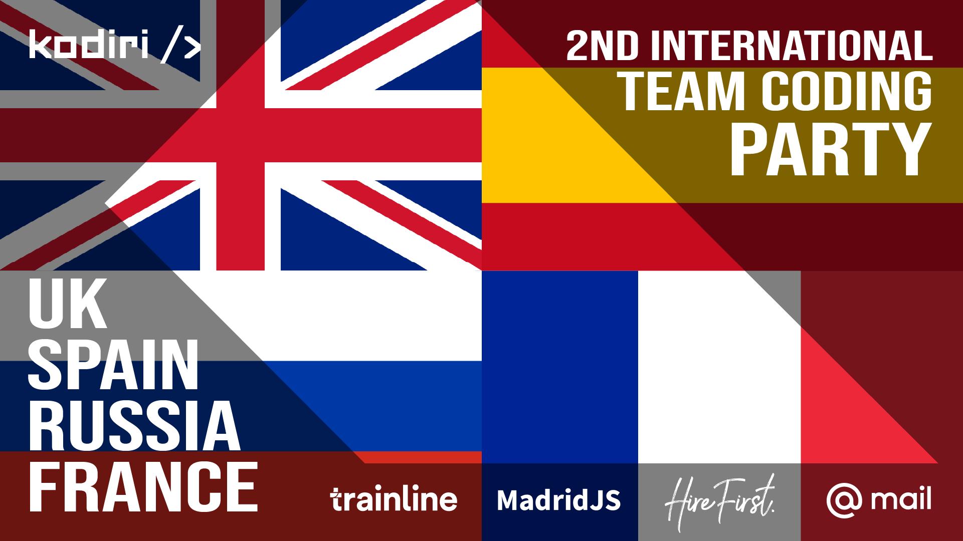 В Москве пройдет дружеское соревнование по JavaScript — International Team Coding Party - 1