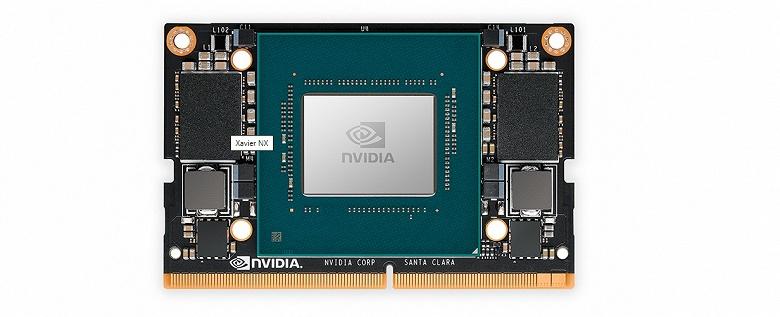 Raspberry Pi на стероидах: Nvidia представила крошечный одноплатный суперкомпьютер Jetson Xavier NX