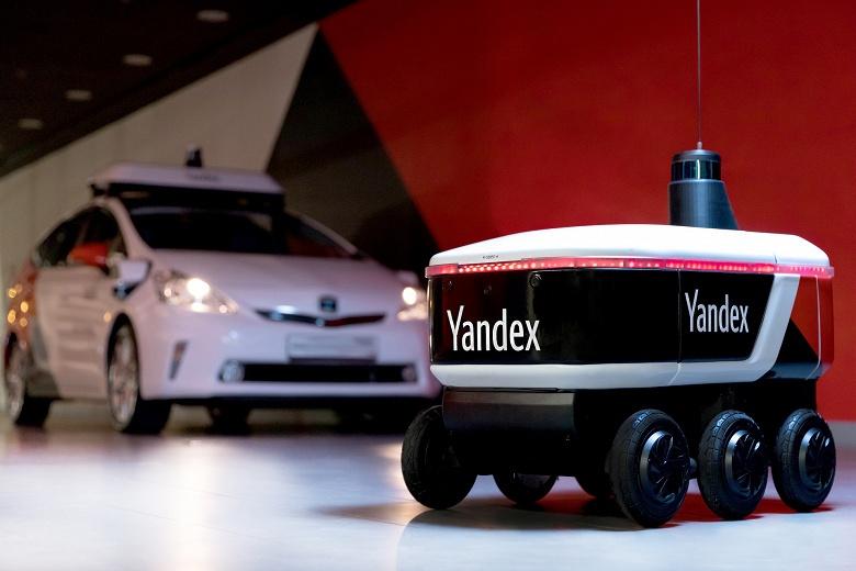 Яндекс запустил ровер-беспилотник, который оставит курьеров без работы