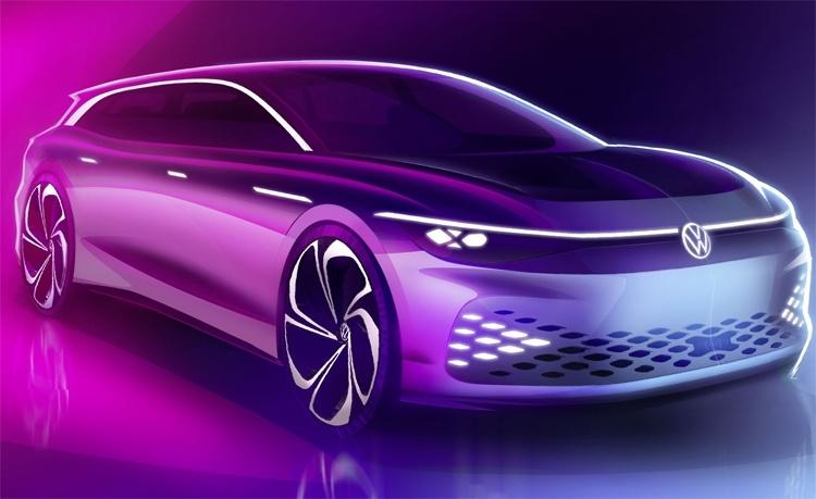 Volkswagen ID. Space Vizzion: электрический универсал с запасом хода почти 600 км