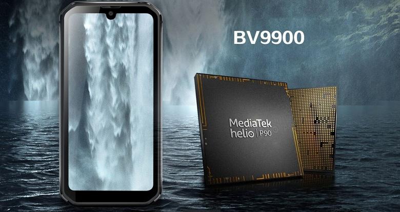 Флагманский неубиваемый смартфон с Helio P90 и тепловизором