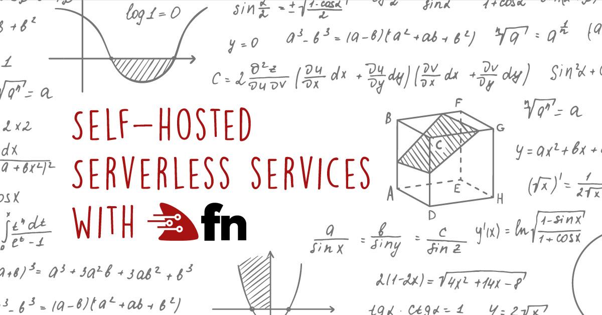 Строим собственный serverless на основе Fn - 1