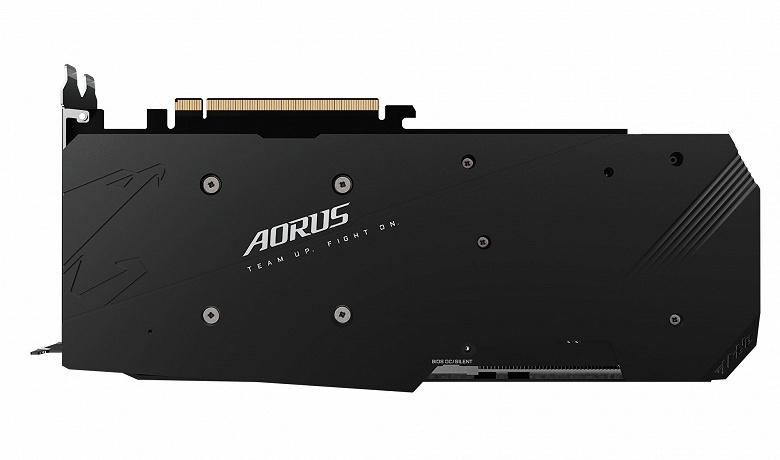 Видеокарта Gigabyte Aorus Radeon RX 5700 XT впечатляет габаритами
