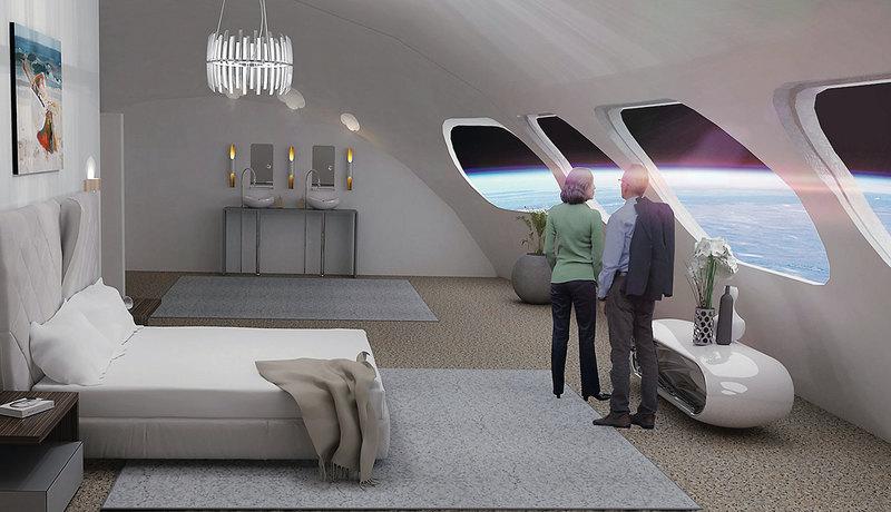 Тысячи звезд: как будет выглядеть космический отель