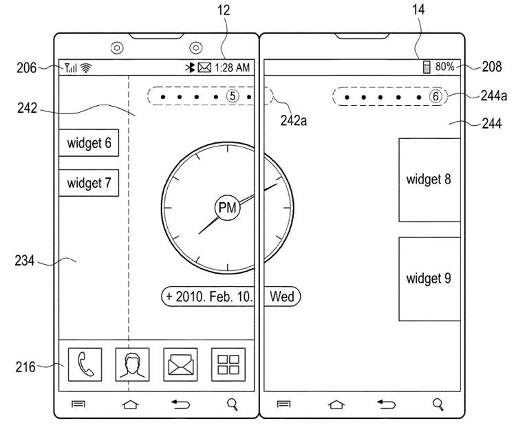 Samsung размышляет над смартфоном в стиле Microsoft Surface Duo