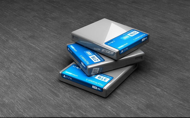PlayStation 5 получит не игровые картриджи, а фирменные внешние SSD