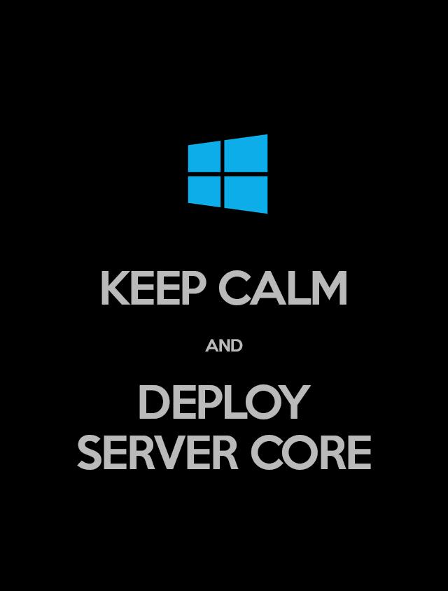 Windows Server Core против GUI и совместимость с ПО - 1