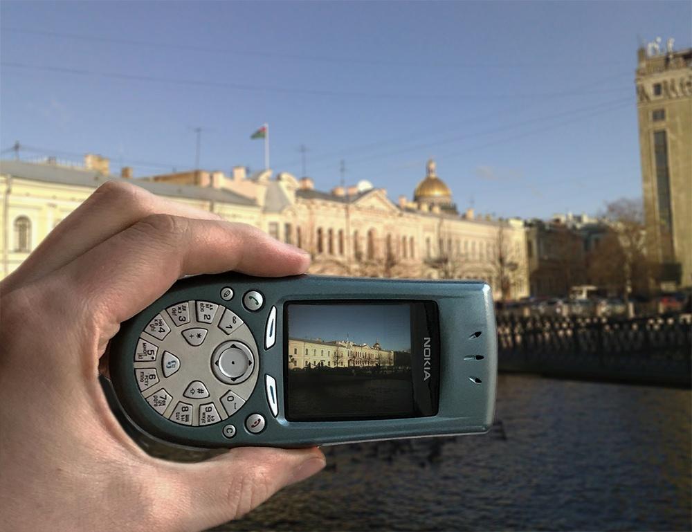 Назад в будущее мобильных телефонов. Камеры - 1