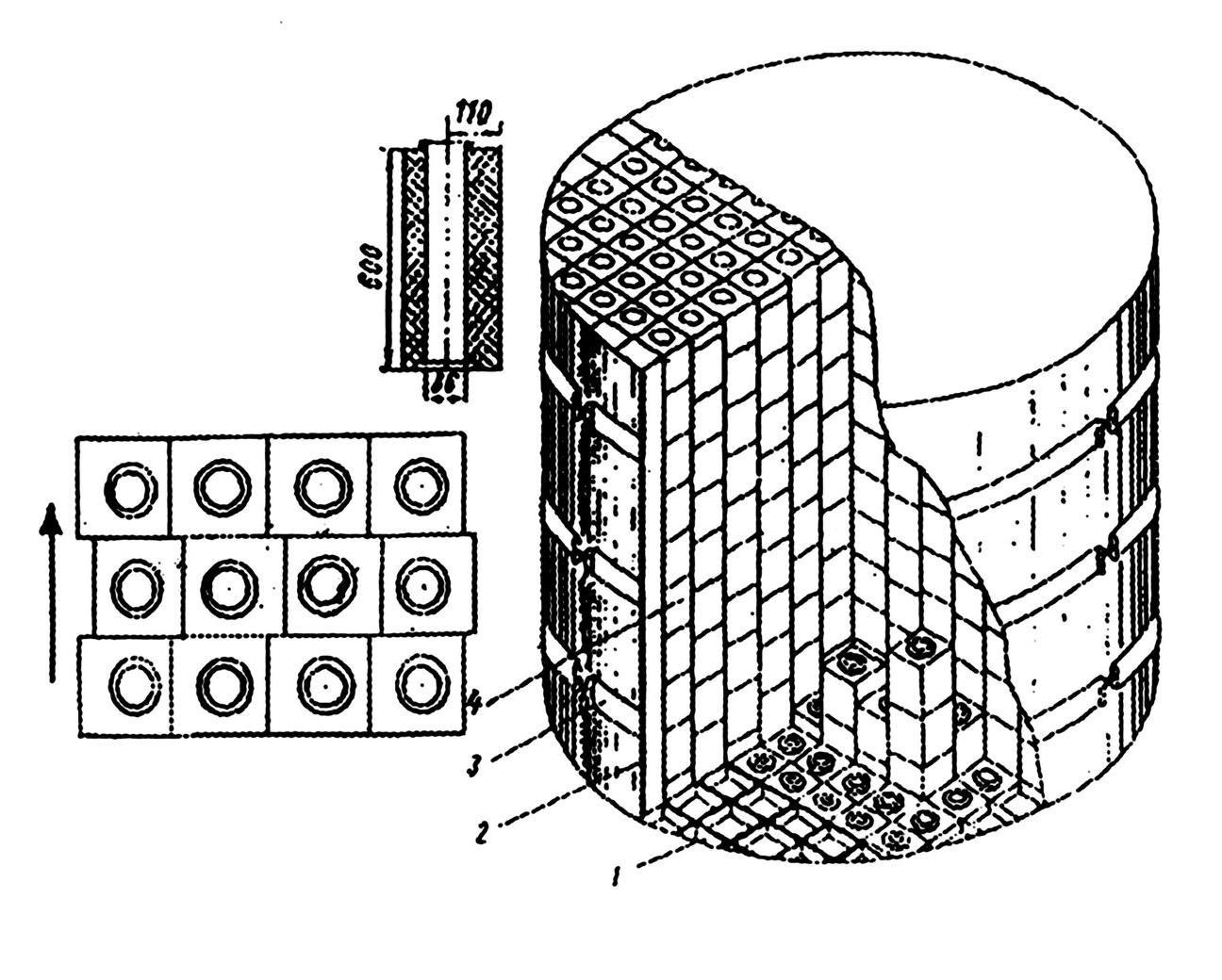 Промышленные уран-графитовые реакторы для наработки плутония - 3