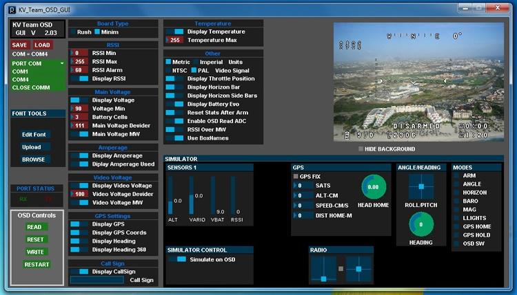 Установка FPV и телеметрии на квадрокоптер - 10