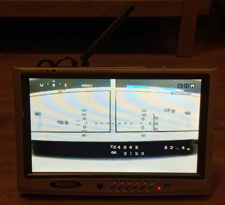 Установка FPV и телеметрии на квадрокоптер - 11