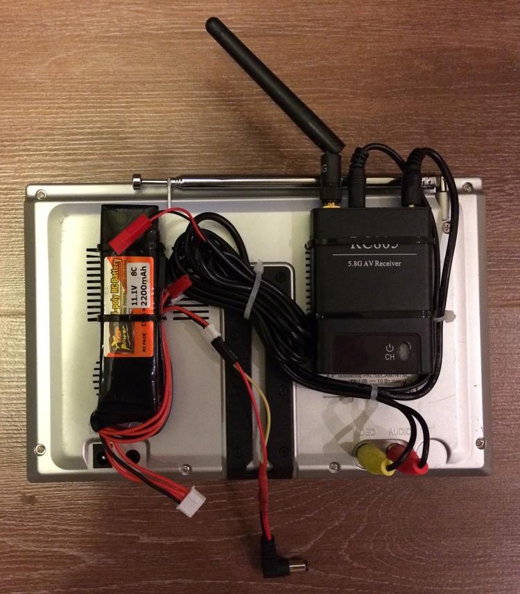 Установка FPV и телеметрии на квадрокоптер - 12