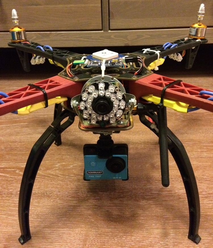 Установка FPV и телеметрии на квадрокоптер - 2