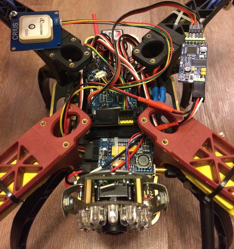 Установка FPV и телеметрии на квадрокоптер - 5