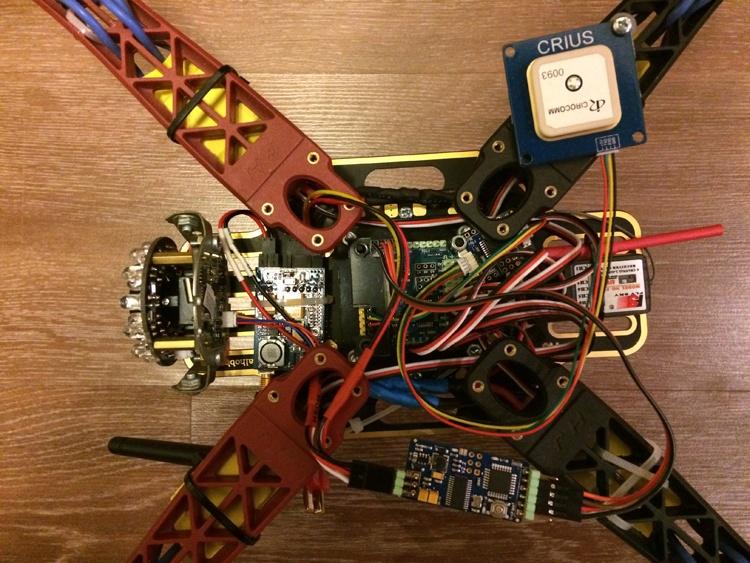 Установка FPV и телеметрии на квадрокоптер - 6