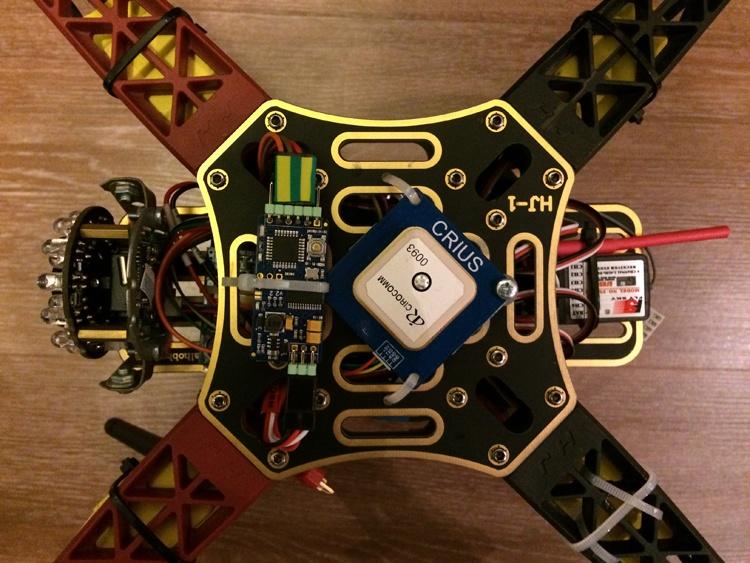 Установка FPV и телеметрии на квадрокоптер - 8