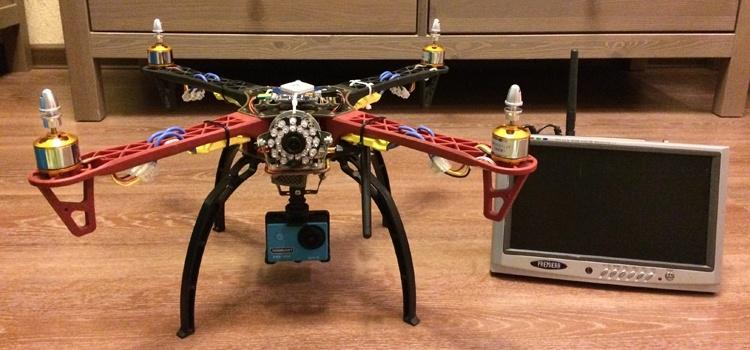 Установка FPV и телеметрии на квадрокоптер - 1