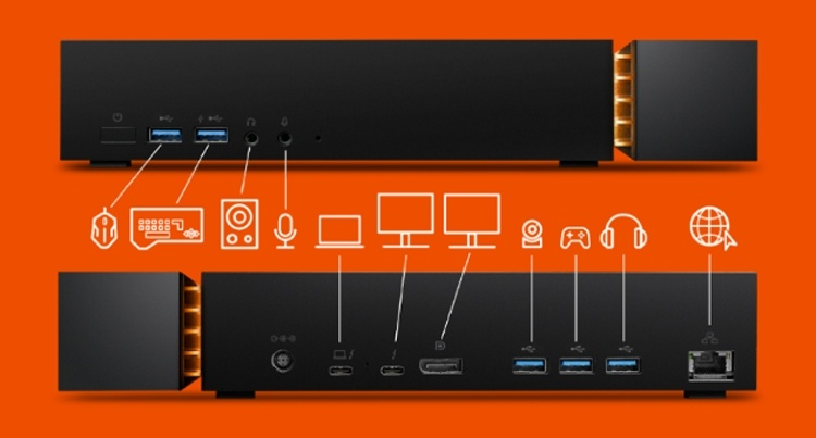Seagate FireCuda Gaming Dock: док-станция с жёстким диском на 4 Тбайт