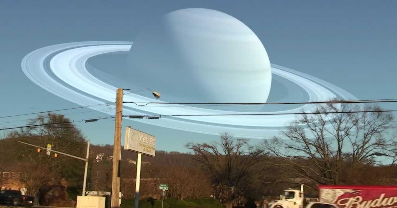 Как выглядели бы планеты Солнечной системы на месте Луны: завораживающее видео