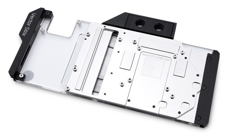 Яркие водоблоки EK-Quantum Vector Strix RTX D-RGB рассчитаны на видеокарты ROG Strix GeForce RTX
