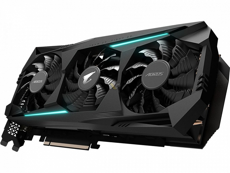 Gigabyte Aorus Radeon RX 5700 XT — очень большая, но не самая разогнанная