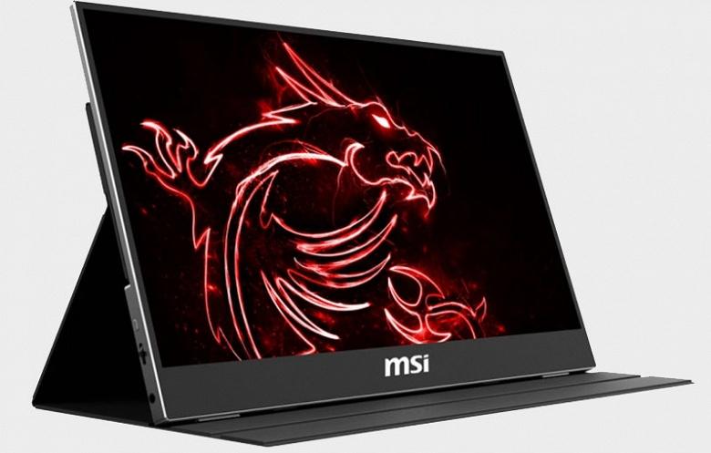 MSI Optix MAG161 — геймерский портативный монитор с кадровой частотой 240 Гц